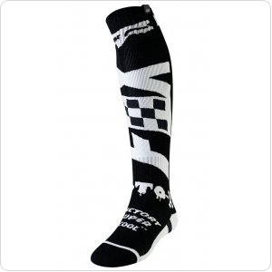Мото носки FOX FRI THICK CZAR SOCK [BLK/WHT]