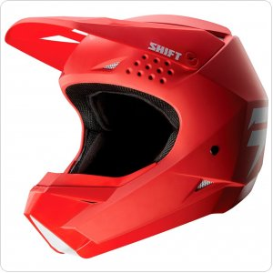 Детский мотошлем SHIFT YOUTH WHIT3 LABEL HELMET [RED]