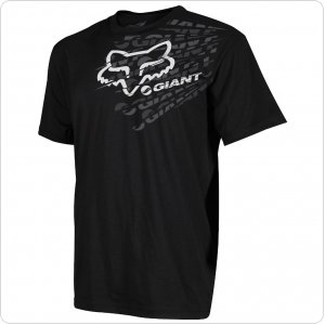 Футболка FOX Giant Dirt Shirt черная
