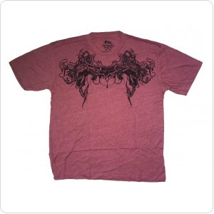 Футболка FOX Gargoyle Heathered Tee [Red]