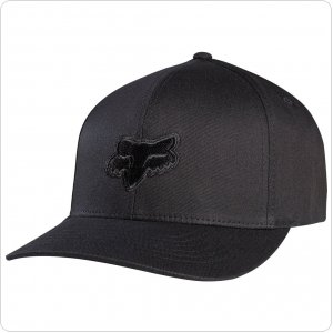 Кепка FOX Legacy Flexfit Hat [Black Black]