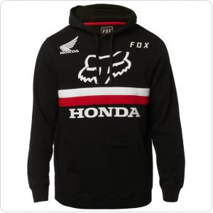 Толстовка FOX HONDA PULLOVER FLEECE [BLACK]