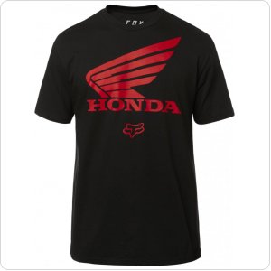Футболка FOX HONDA TEE [BLACK]