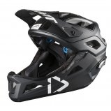 Вело шлем LEATT Helmet DBX 3.0 Enduro [Black/White]
