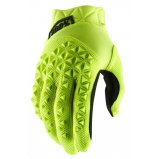 Детские мото перчатки Ride 100% AIRMATIC Youth Glove [Fluo Yellow/Black]