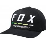 Кепка FOX PRO CIRCUIT DRAFTR FLEXFIT HAT [BLACK]