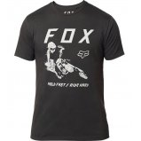 Футболка FOX HOLD FAST PREMIUM TEE [BLACK]