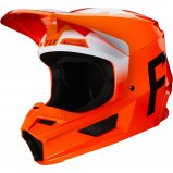 Мотошлем FOX V1 WERD HELMET [FLO ORANGE]