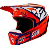 Мотошлем FOX V3 IDOL HELMET [ORANGE]
