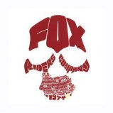 "Наклейка FOX Legends Sticker 4"" [RED]"