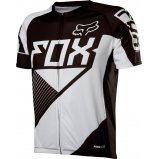 Вело джерси FOX LIVEWIRE RACE JERSEY [BLACK/WHITE]
