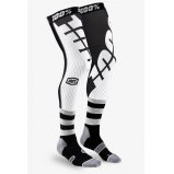 Мото носки Ride 100% REV Knee Brace Performance Moto Socks [Black/White]