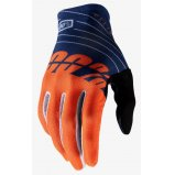 Вело перчатки Ride 100% CELIUM Gloves [Navy Orange]