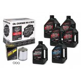 Комплект MAXIMA V-TWIN OIL CHANGE KIT - Syntetic [Chrome]