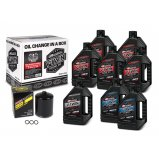 Комплект MAXIMA V-TWIN OIL CHANGE KIT - Mineral [Black]