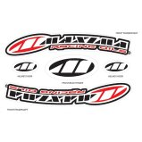 Наклейка Maxima Factory Front MX Fender [Red]