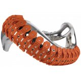 Защита резонатора Polisport Armadillo Pipe Guard [Orange]