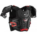 Детская защита тела LEATT Chest Protector 4.5 Pro Jr [Black/Red]