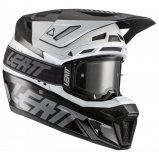 Мотошлем LEATT Helmet GPX 8.5 V21.1 + Goggle [Black White]