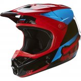 Мотошлем FOX V1 MAKO HELMET ECE [Blue/Red]