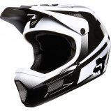 Вело шлем FOX RAMPAGE COMP IMPERIAL HELMET [Black/White]