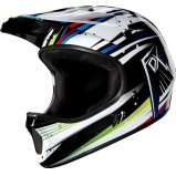 Вело шлем FOX RAMPAGE HELMET [WHITE BLUE]