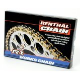 Цепь мото Renthal R1 MX Works Chain 520-118L