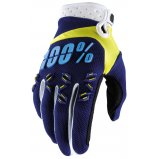 Мото перчатки Ride 100% AIRMATIC Glove Navy/Yellow