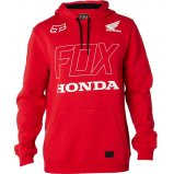 Толстовка FOX HONDA PULLOVER FLEECE [DARK RED]