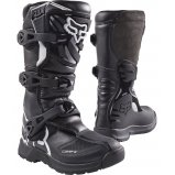Детские мотоботы FOX Comp 3 Youth Boys MX Boot [BLK]