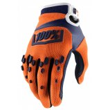 Мото перчатки Ride 100% AIRMATIC Glove Orange/Navy