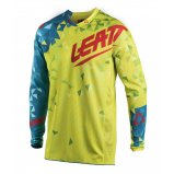 Мото джерси LEATT Jersey GPX 4.5 Lite [Lime/Teal]