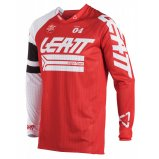 Мото джерси LEATT Jersey GPX 4.5 X-Flow [Red/Wht]