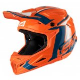 Мотошлем LEATT Helmet GPX 4.5 V20 ECE [Orange/Denim]
