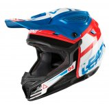 Мотошлем LEATT Helmet GPX 4.5 V25 ECE [Blue/White]