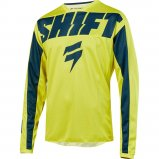 Мото джерси SHIFT WHIT3 YORK JERSEY [YLW/NVY]
