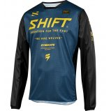 Мото джерси SHIFT WHIT3 MUSE JERSEY [NAVY]