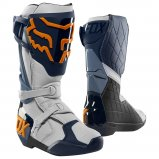 Мотоботы FOX COMP R BOOT [NAVY ORANGE]