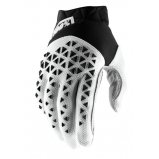 Мото перчатки Ride 100% AIRMATIC Glove [Black/White/Silver]