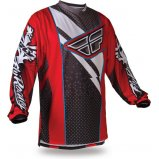 Мото джерси FLY F-16 JERSEY [RED/BLK]