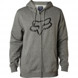 Толстовка FOX LEGACY FOXHEAD ZIP FLEECE [HTR GRAPH]