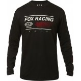 Футболка FOX GLOBAL LS TEE [BLK]