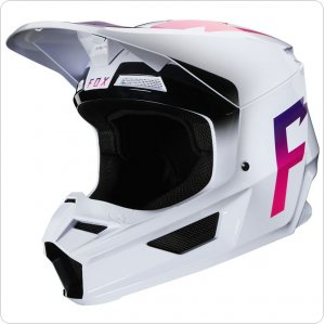 Мотошлем FOX V1 WERD HELMET [WHITE]