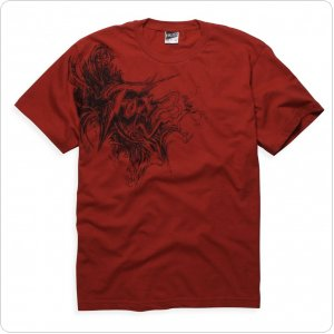 Футболка FOX Day 2 Day Tee Mens [RED]