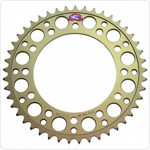 Звезда Renthal Hard Anodised Chainwheel 530 - Honda [Gold]
