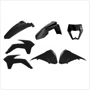 Пластик Polisport ENDURO Restyling kit - KTM [Black]