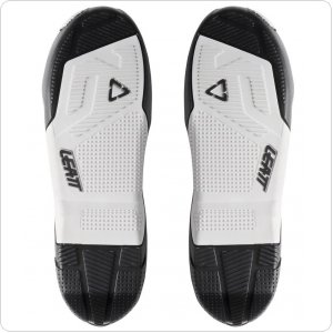 LEATT Sole GPX 4.5 / 5.5 Boots Pair [White/Black]