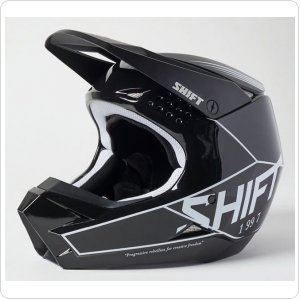 Мотошлем SHIFT WHITE LABEL BLISS HELMET [BLACK]