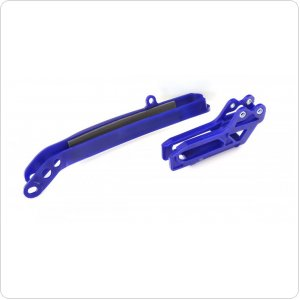Polisport Chain guide + swingarm slider - Yamaha [Blue]