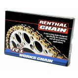 Цепь мото Renthal R1 MX Works Chain 428-120L